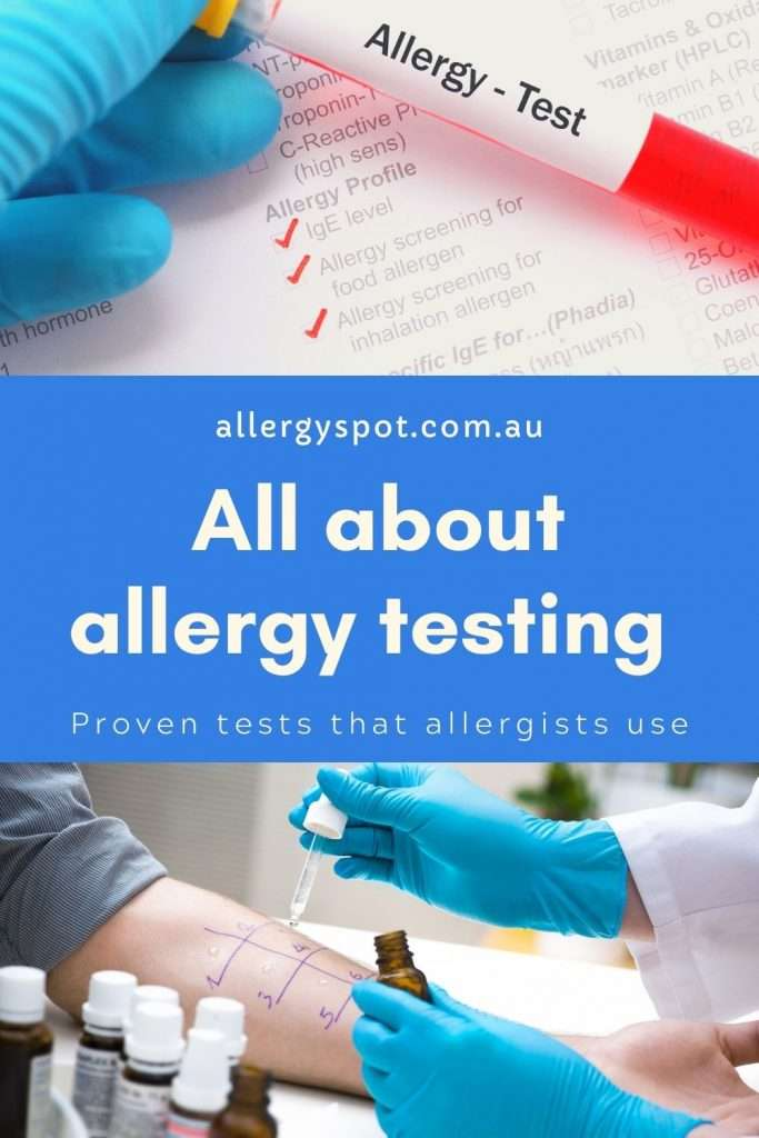 All about allergy testing. Authentic and proven allergy testing that allergists use.
